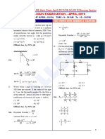JEE Main Physics Paper With Solutions April 8 Morning