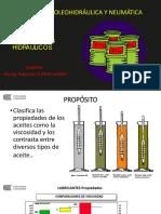 Tema 02 Propiedades de Los Aceites Hidráulicos