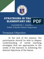 Strategies in Teaching Elem. Grades.ppt