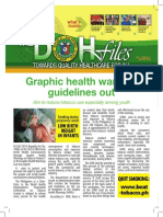 DOH Graphic Health Warning Guide
