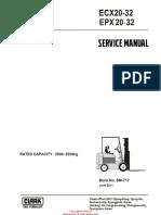 CLARK ECX Manual de Servicio