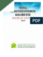proposal seminar manajemen nyeri