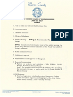MCBOC 2019 0611 Agenda Packet