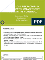 Tuberculosis risk factors in children with smearpositive adults.pptx