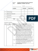 Rubric for Assignment 1 & 2 POWER SYSTEM