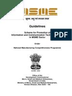 MSME Promotion Scheme