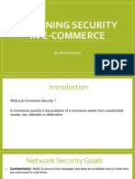 Security in Ecommerce