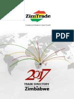 2017 Trade Directory of Zimbabwe