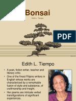 Bonsai - Edith L. Tiempo
