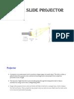 Single Slide Projector
