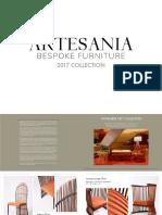 Artesania Catalogue 2017