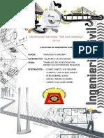 Trabajo Final de Hidraulica i(Redes de Distribucion )