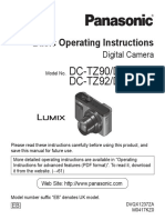 Manual for Lumix TZ90