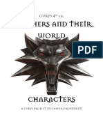 GURPS 4e - [Unofficial] Witchers and their World - Characters.pdf