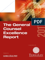 2017 General Counsel Excellence Report - European Edition