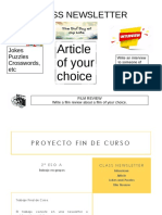 Class Project 2º ESO