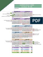 Calendario Escolar 19 20 Almería