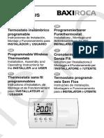 10 Termostato Ambiente Rx 200 y Rx 200 Plus
