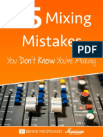 35 Mixing Mistakes You Don t Know You Re Making Fader Jam Edition