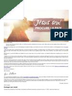 Jesus Seul Procure La Paix