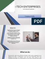M-tech Enterprises Profile