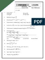 logarithms fiitjee.pdf