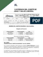 280743566 9 Estatutos Del Comite de Seguridad y Salud Laboral