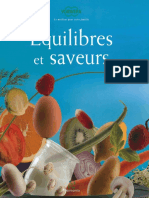 Equilibres et Saveurs