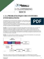 Clustering MSC