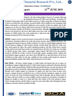 CapitalStars MCX Daily Report 11 June 2019