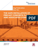 The Safe Installation of Precast Concrete Flooring and Associated Components 2017