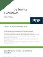 Teoría de Juegos Evolutivos