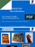 GELE7319 Microeletronica - AULA-01
