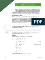 calculus 12; unit 2 chapter 1