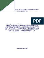 Informe de Consultoría Esap Biblioteca Barranqulla Atlántico 2002