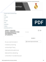 2000+ Canada Scholarships for International Students - Scholarships for International Students 2019