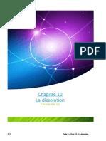 Ch 10 - La dissolution.doc