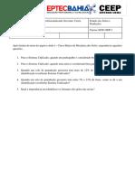 Questionário Capítulo Aula 3