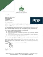 Gov. Scott's S. 169 veto letter