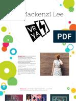 Presentación Mackenzi Lee