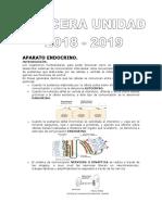 Histología Guía Unidad III - Aparato Endocrino