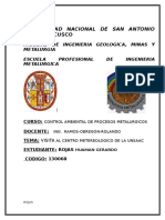 Visita Al Centro Meteorologico de La Unsaac 2014