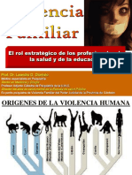 Violencia Familiar - Rol Estrategico Prof de La Salud y de La Educacion