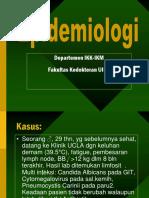 K-1 (Pendahuluan Epidemiologi)