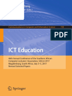 (Communications in Computer and Information Science 730) Janet Liebenberg,Stefan Gruner (eds.) -  ICT Education_ 46th Annual Conference of the Southern African Computer Lecturers' Association, SACLA 2.pdf