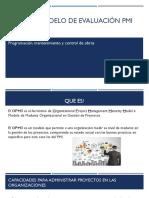 Opm3- Modelo de Evaluación Pmi
