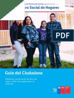 Guía para el ciudadano sobre el registro social de hogares