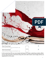 How to Create an Awesome Splashing Sneaker in Photoshop - Photoshop Tutorials