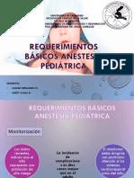 Equipamiento en Anestesia Pediátrica