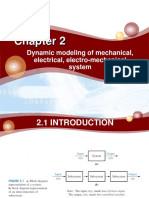 Dynamic modeling of mechanical, electrical, electro-mechanical system